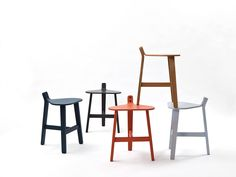 Bronco stool by Guillaume Delvigne for super ette furniture 2