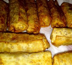 """EASY Homemade Eggroll Tutorial- a Glorified Goodies original.  Six other recipes for Homemade Chinese Food """"Take Out"""""""
