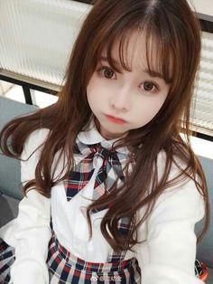A coisa mais fofa do mundoooo❤❤❤❤ Cute Korean Girl, Cute Asian Girls, Sweet Girls, Cute Girls, Cool Girl, Beautiful Japanese Girl, Beautiful Asian Girls, Mode Kpop, Cute Kawaii Girl