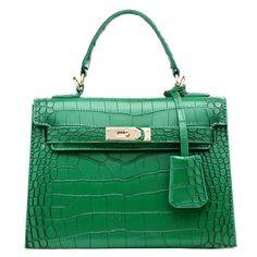 42.98$  Watch here - http://alixef.worldwells.pw/go.php?t=32701532542 - 2016 Crocodile Pattern Top-handle Bags Famous Brand Designer Women Bag Lady Business Handbag Shoulder Bags Bolsa Feminina Sac 42.98$