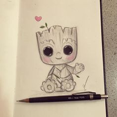 Arquivos Disney - Burn Book Inspirational images based on Disney characters. Sketchbook Drawings, Pencil Art Drawings, Cartoon Drawings, Animal Drawings, Drawing Sketches, Drawing Art, Easy Disney Drawings, Art Drawings For Kids, Easy Drawings