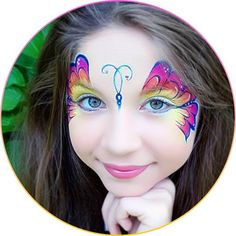 Learn the 5 most important tricks to get your face painted butterflies looking great!