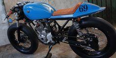 Yamaha Scorpio 225cc Modif Cafe Racer, Dijual