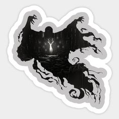 Shop Patronus - Harry Potter harry potter stickers designed by Shiron_ as well as other harry potter merchandise at TeePublic. Stickers Harry Potter, Cover Harry Potter, Harry Potter Props, Harry Potter Artwork, Harry Potter Pictures, Harry Potter Drawings, Harry Potter Wallpaper, Harry Potter Facts, Harry Potter Love