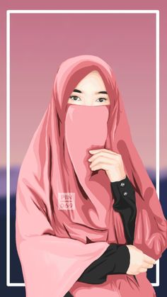 Muslim Girls, Muslim Couples, Best Facebook Profile Picture, Caricature, Muslim Pictures, Hijab Drawing, Beautiful Quran Quotes, Islamic Cartoon, Hijab Collection
