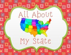 A great introduction to a study of states!  Quickly learn about your state's governor, state bird and flower, population, and flag while also learning a few interesting facts along the way.This state poster is a great tool for those studying state history or for those interested in learning more about a particular state. #alabamahistory #socialstudies #iteachtoo #iteachfourth #iteach4th