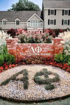 Alpha Phi house in Norman Oklahoma