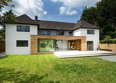 Cedar frames an extension on AR Design Studio's The Runners House