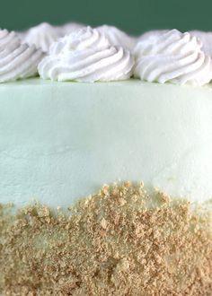 key lime love - key lime cake!