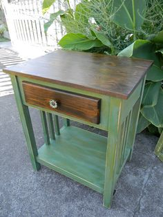 Emily's Up-cycled Furniture: Don't Sweat the Small Stuff
