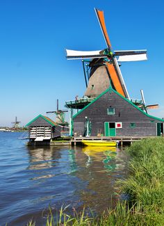 Zaanse Schans , Holland