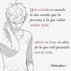 Que extraño. #ShuOumaGcrow #Anime #Frases_anime #frases