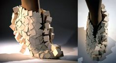 Andreia Chaves Form and Texture Shoe