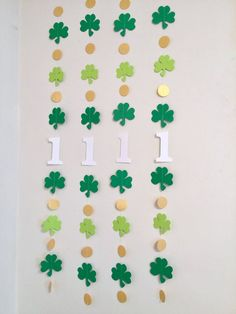 Excited to share the latest addition to my shop: St Patricks First Birthday Decor- I am 1 Photo Prop - Luck One - Shamrock birthday backdrop - Irish Birthday Garland Boy/Girl - Birthday Garland, 1st Birthday Banners, First Birthday Decorations, Birthday Backdrop, Girl First Birthday, Boy Birthday Parties, Baby Birthday, Birthday Invitations, Birthday Ideas