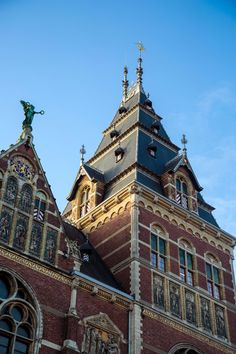 Having a 10 hour layover in Amsterdam we decided to explore the city's streets. City Streets, Travel Goals, Barcelona Cathedral, Amsterdam, Greece, Louvre, Around The Worlds, 5 Hours, Explore
