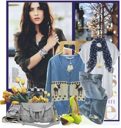 """tired"" by pinkpowder ❤ liked on Polyvore"