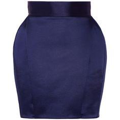 Balmain Pleated satin mini skirt (4,335 PEN) ❤ liked on Polyvore featuring skirts, mini skirts, balmain, blue mini skirt, mini skirt, blue pleated skirt, short mini skirts and pleated mini skirt