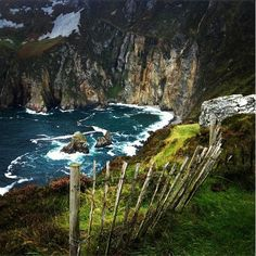The beautiful Sliabh Liag Cliffs in County #Donegal #Ireland #WildAtlanticWay