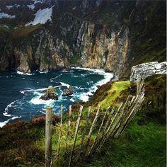 The beautiful Sliabh Liag Cliffs in County #Donegal #Ireland #WildAtlanticWay