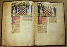 """University of Arizona Library."""" Libro del ajedrez"""" - """"Book of games"""". CÓDICES iluminados Edad Media y Renacimiento / Illuminated CODEX Middle Ages & Renaissance. Vicent García Editores. FACSÍMILES desde1974 / FACSIMILE Ed since 1974. Premio Gutenberg / Gutenberg Prize. Tel:(+34)963691589 - Valencia (Spain) - vgesa@combios.es - EnglishWebsite: http://www.vgesa.com/facsimile-codex-Virgilius-Beatus-Atlas.htm"""