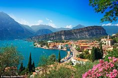 Donnelly's family of four stayed in Cisano San Vito, on the south-eastern edge of Lake Garda in northern Italy...