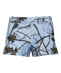 Sky Forest Dolphin Four-Way Stretch Active Shorts