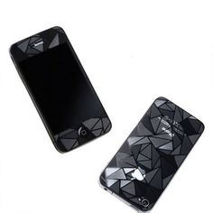3D Diamond Pattern Matte Anti Finger Anti Glare Screen Protector Guard Film for iPhone 4 4S (Front and Back). Brand New Generic Bulk Package. new and good quality 3D diamond pattern matte screen protector guard film for iPhone 4 4S. Designed to protect your phone from the front to the back and prevents it from any harm and scratches. With the decorating 3D, back of the screen guard with diamond pattern, front of the display screen film is anti-glare, special workmanship makes your cell…