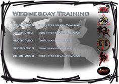 Tomorrow's training double Brazilian Jiu Jitsu :)