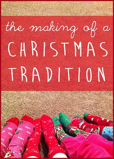 Ever wonder how Christmas traditions are born? Here are several ideas for making your own family traditions this Christmas! Merry Little Christmas, Christmas Goodies, Family Christmas, Winter Christmas, Winter Holidays, Christmas Ideas, Christmas Crafts, Christmas Pajamas, Rustic Christmas
