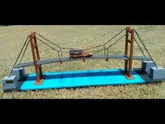 Ayush kumar and Anubhav Pande,students of BBDNIIT, LUCKNOW, made the bascule suspension bridge model which works on principle of hydraulics, wins the first p. Preschool Science, Science Fair, Science For Kids, Science Activities, Science And Nature, Stem Projects For Kids, School Science Projects, Bridge Model, Bridge Structure