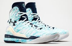Under Armour ClutchFit Drive Blizzard Christmas PE for Stephen Curry Tenis Basketball, Blue Basketball Shoes, Sports Shoes, Basketball Hoop, Basketball Playoffs, Basketball Diaries, Basketball Equipment, Basketball Stuff, Basketball Posters