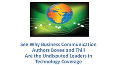 Which Business Communication Textbook Authors Are the Undisputed Leaders in Technology Coverage