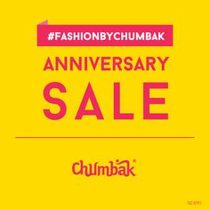 Chumbak is celebrating its birthday at LuLu Mall and in celebration of the day, it's offering tempting discounts on apparels for 7-8 days starting today! www.lulumall.in