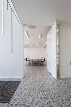 70 Smooth Concrete Floor Ideas for Interior Home – Flooring Terrazo Flooring, Granite Flooring, Concrete Floors, Smooth Concrete, Polished Concrete, Door Gate Design, Terrazzo Tile, Interior Architecture, Interior Design