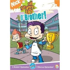 All Grown Up - O' Brother. When Tommy wins an award for a short film, Dil fears that he will be left behind when his brother becomes famous. Meanwhile, the gang enlists Angelica to teach Chuckie how to lie, in order to keep a party for Tommy a secret. Nickelodeon Cartoons, Cool Cartoons, Rugrats All Grown Up, Miraculous Ladybug Funny, Short Film, Bart Simpson, Growing Up, Movie Tv, Nostalgia
