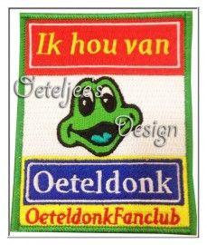 Prachtig embleem uitgebracht door de OeteldonkFanclub.
