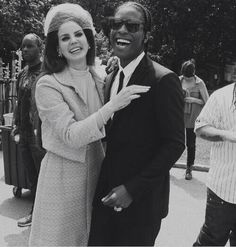 Lana and A$AP Rocky cutest and absurd❤❤❤❤❤