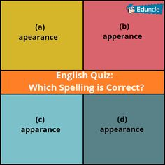Are you learning english? then find out common spelling error. => Answer this in 10 seconds!