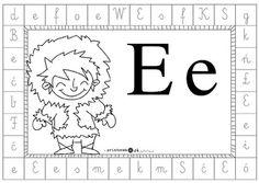 Alfabet dookoła - litera e - Printoteka.pl Full Bed Loft, Speech Language Therapy