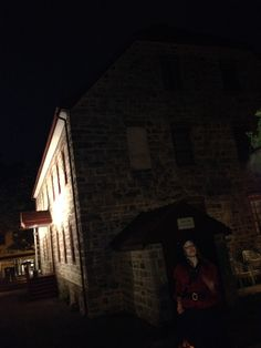 On a ghost tour in Bethlehem