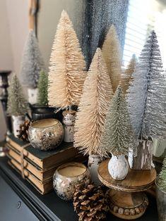 Woodland Christmas, Little Christmas, Christmas Time, Vintage Christmas, Christmas Crafts, Christmas Decorations, Holiday Decor, Cozy Christmas, Rustic Christmas