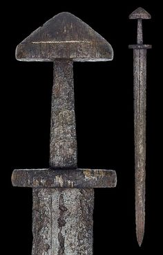 "myArmoury.com A Rare Viking Sword of Peterson Type H and Wheeler Type II, 9th century Overall length: 93.5 cm (36.8""); Blade length: 78.9 (31"") cm"