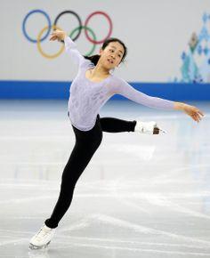 浅田真央が初練習 五輪スケート会場