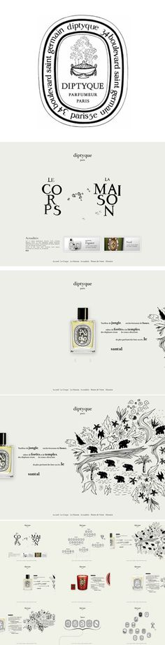 diptyque. I have always been in love with their branding.