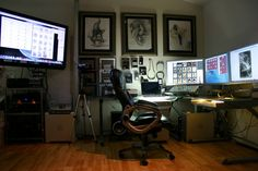 Mike Butkus Following · July 7  Hey guys, I got your emails and here are a few pic's of my studio you can see more pic's in the photo section. cheers Mike