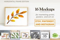 Print & Poster Mockups for Etsy by DrifterStudioPrints on @creativemarket