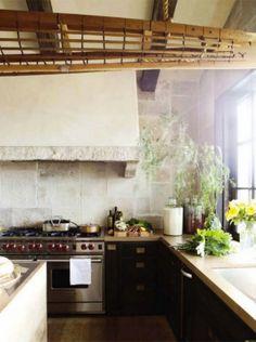 Mediterranean style kitchen
