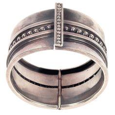 Bracelet | Margot de Taxco.  Sterling silver