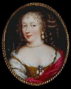 Henriette Anne Stuart -- nicknamed 'Minette' by her elder brother, Charles II of England.