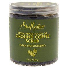 Shea Moisture Olive Oil Coffee Scrub For Unisex 12